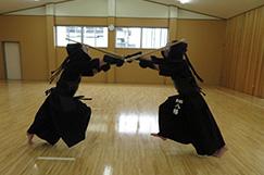剣道部の写真です。