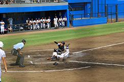 硬式野球部の写真です。