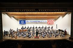 吹奏楽部の写真です。