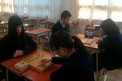 将棋部の写真です。