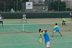 テニス部の写真です。
