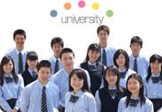 3つのコースすべてから大学進学を実現していることをイメージした写真です。