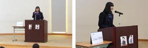 霞ヶ浦高等学校附属中学校のスピーチコンテストに参加しました(1/26)・2