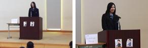 霞ヶ浦高等学校附属中学校のスピーチコンテストに参加しました(1/26)・4